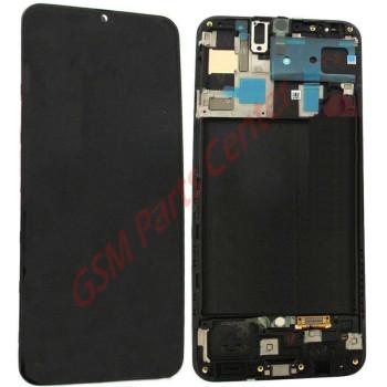 Samsung SM-A505F Galaxy A50 LCD Display + Touchscreen + Frame GH82-19204A Black