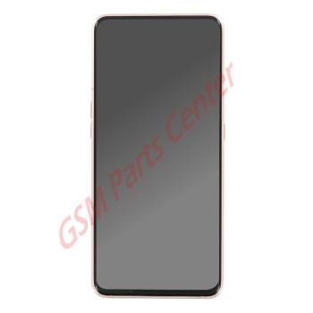 Samsung SM-A805F Galaxy A80 LCD Display + Touchscreen + Frame GH82-20390C Gold