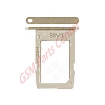 Samsung SM-J600F Galaxy J6 Simcard holder + Memorycard Holder GH63-15695D & GH63-15696D Gold