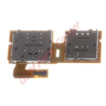 Samsung SM-T710 Galaxy Tab S2 8.0 Simcard + Memorycard reader Flex Cable GH59-14420A