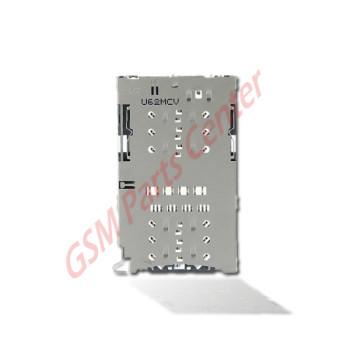 Samsung G930F Galaxy S7 Simcard reader Connector + Memorycard Reader 3709-001892