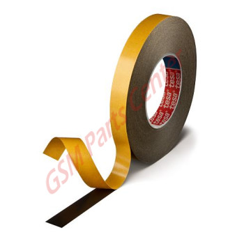 Tesa 51965 - Double Sided Black Tape 2mm x 25m