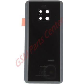 Huawei Mate 20 Pro (LYA-L29) Backcover - With Camera Lens - Black