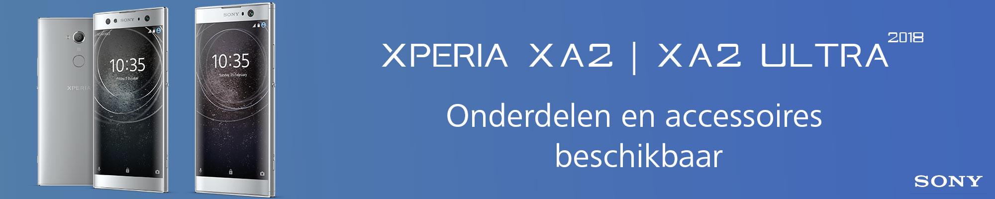 Nieuwe onderdelen voor de Sony Xperia XA2 en XA2 Ultra bij GSM Parts Center