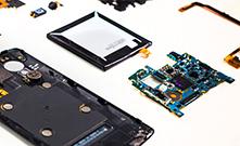 Onderdelen voor de nieuwste tablets en smartphones
